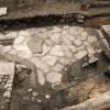 Római utak a Tűztorony tövében