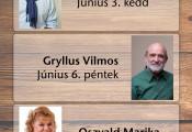 Gryllus Vilmos nyárindító gyermekkoncertje